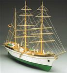 754 MANTUAL MODEL Gorch Fock 754 Scala 1:90, lunghezza 980mm