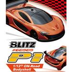 TIT-60909 TEAM TITAN  Blitz P1 1/12 Carrozzeria On-Road Sport Car 0.8mm (TRASPARENTE)