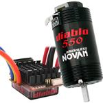NOVAK 3085 Diablo Dual Battery Brushless 550 System NOV3085 / (1:10)