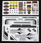 RC4ZB0140  Complete Graphic Decal Set for Mojave II 2/4 Door Body RC4WD