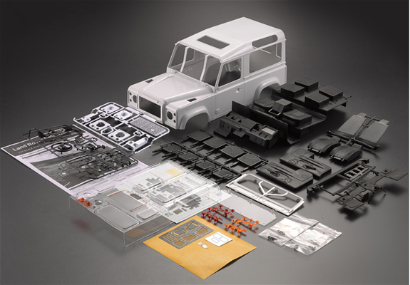 Killerbody KB49001  LAND ROVER DEFENDER D90 carrozzeria in ABS in KIT