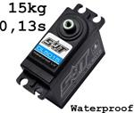Servo DL5015 Waterproof 15kg 0.13sec @6.0v ingranaggi in metallo